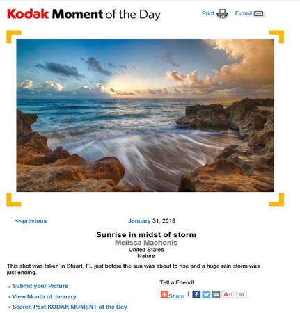 Kodak Moment of the Day