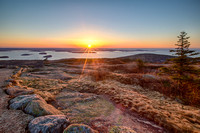 Rays of Sun - Cadillac Mountain